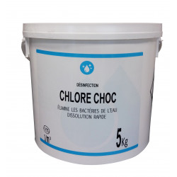 Gamme Blanche Shock Chlorine tablets, 5 kg bucket - for swimming pools Treatment product