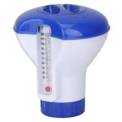 Jardiboutique Schwimmender Diffusor mit Thermometer, 12 cm hoch. Diffuseur-01 Diffusor