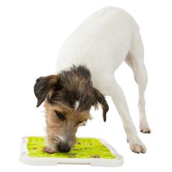 TR-34952 Trixie Lick'n'Snack Plato de Lick'n'Snack para tu perro. Tazón y fuente