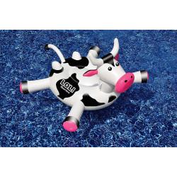 SWIMLINE Bouée Eustache la vache 150 x 129 x 79 cm SC-FUN-900-0010 Jeux d'eau