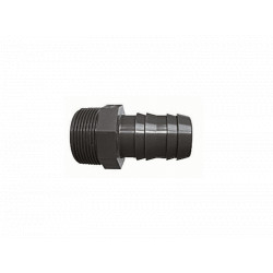 "Interplast SPN238F F 1""1/2 male threaded hose connection F 1""1/2 male to screw / 38 mm PVC PRESSURE CONNECTION"