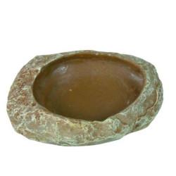 TR-76180 Trixie Tazón de comida y agua para reptiles, Tamaño: 6 × 1.5 × 4.5 cm H1.5 Accesorio