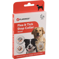 Flamingo FL-519840 Antiparasitic dog collar 74 cm. BATALI fleas and ticks. pest control collar