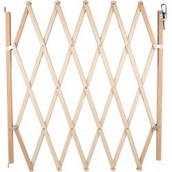 Flamingo Holzzaun MONTI ausziehbar max 107 x 80 cm. für Hunde FL-519707 Nische, Zaun und Park