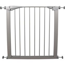 Flamingo FL-520025 Grey SALUS safety gate 79-84 cm x 76 cm. for dogs Niche