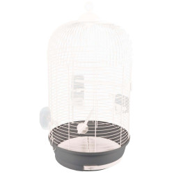 Flamingo Pet Products 1 SANNA II. white parakeet cage. ø 34 x 67 cm. Cages, aviaries, nest boxes