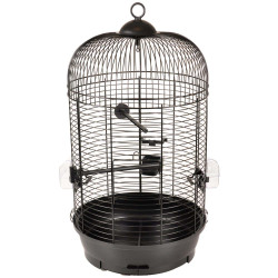 Flamingo Pet Products 1 Cage perruche SANNA II. noir ø 34 x 67 cm. Cages, aviaries, nest boxes