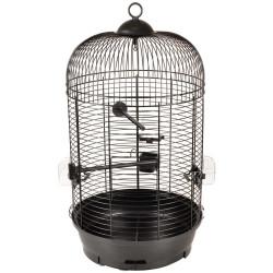 Flamingo Pet Products 1 SANNA II parakeet cage. black ø 34 x 67 cm. Cages, aviaries, nest boxes
