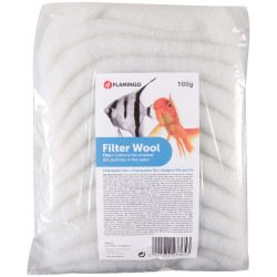 Flamingo FL-400120 Ouate pour Aquarium 100 g Filter media, accessories