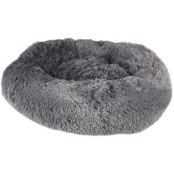 Flamingo FL-519464 KREMS cushion round, colour grey ø 50 cm. for dogs Dodo