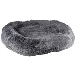 Flamingo Pet Products KREMS round anti-stress cushion, grey color ø 90 cm. for dogs Coussin chien