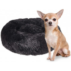 Flamingo FL-519469 KREMS cushion round, colour black ø 50 cm. for dogs Dodo