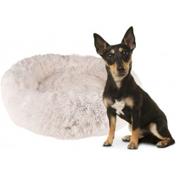Flamingo FL-519468 KREMS cushion round, colour white ø 70 cm. for dogs Dodo