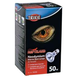 Trixie 50 W neodymium heat spot lamp for reptiles . lighting