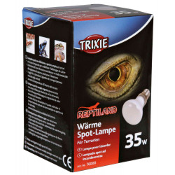 Trixie Lampe spot à chaleur 35 W pour reptile. TR-76000 éclairage