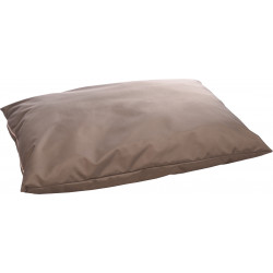 Flamingo Pet Products MOONBAY rectangular taupe cushion. 100 x 70 cm x 16 cm. for dog Coussin chien