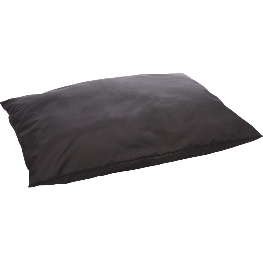 Flamingo FL-520320 MOONBAY Rectangular black cushion. 100 x 70 cm. for dog Dodo