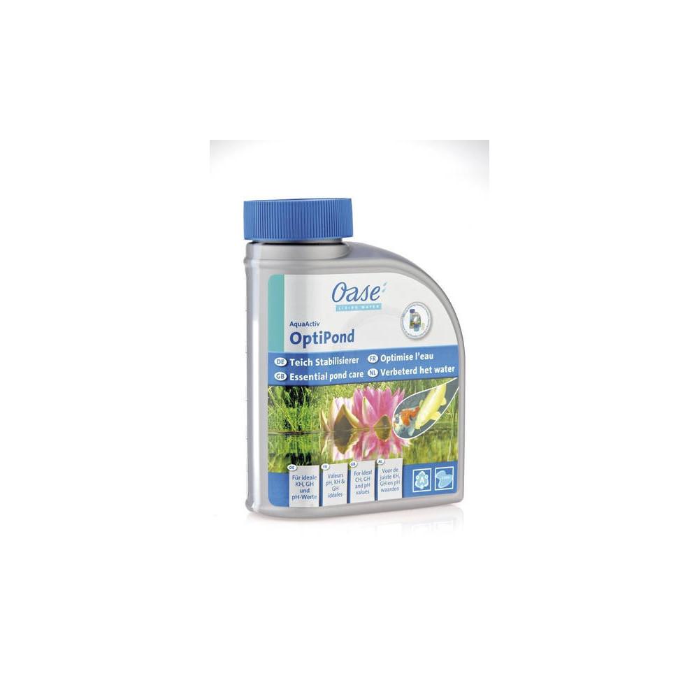 Adoucit l'eau du robinet - OptiPond 500 ml Produit traitement bassin OASE BP-51312988
