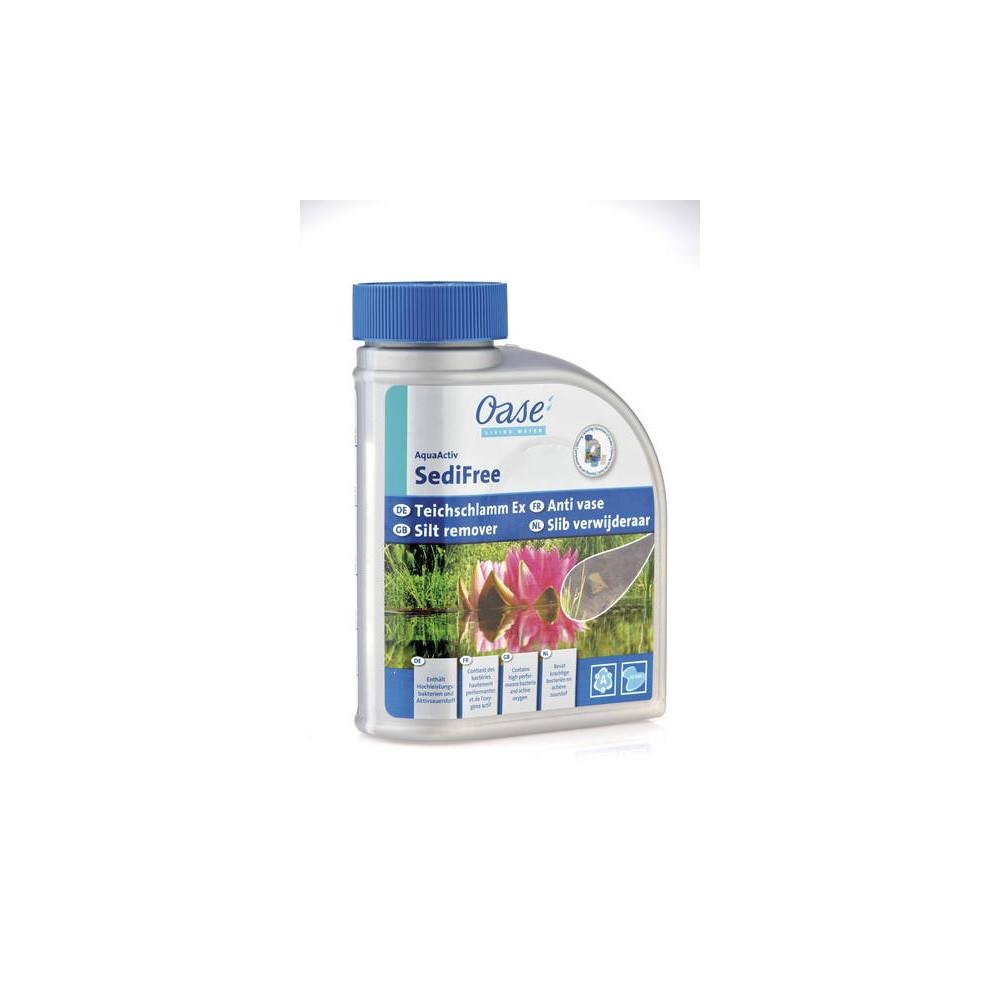Dévaseur - AquaActiv SediFree 500 ml - OASE Produit traitement bassin OASE BP-51313100