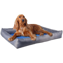 Flamingo FL-519545 Refreshing cushion FRESK. size L. 70 x 50 x 8.5 cm. blue/grey. for dog. Dodo