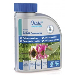 OASE Against greenish water in the pond - AlGo Greenaway 500 ml - OASE Product for pond treatment