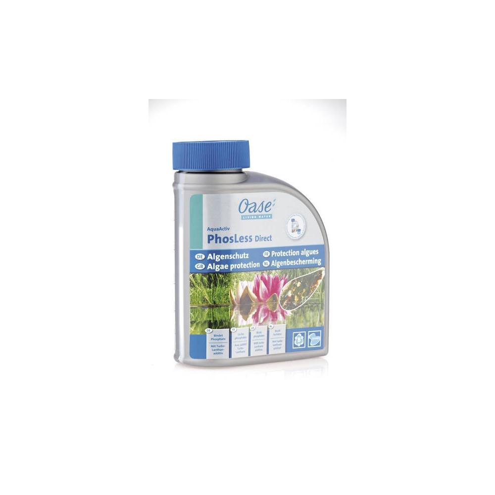 OASE Liant pour phosphates - PhosLess Direct 500 ml- Traitement bassin aquatique - OASE BP-57078650-001 Produit traitement ba...