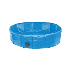 Flamingo Pet Products Dog pool. ø 130 x 20 cm. DOGGY SPLASH blue colour. Piscine pour chien