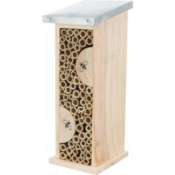 TR-59510 Trixie Hotel para abejas. Altura 30, anchura 9,5, profundidad 14 cm. Hoteles de insectos