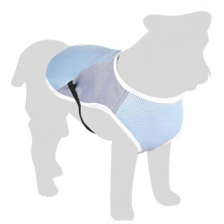 Flamingo FL-519547 Refreshing coat FROZEN grey. length 35 cm. ø 46-56 cm. for dogs. Dog Safety