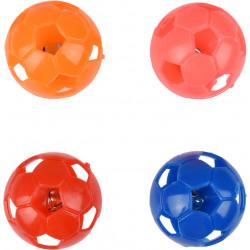 Flamingo 4 palline di campana per gatti. ø 3,8 cm. Multipli colori. FL-560899 Giochi