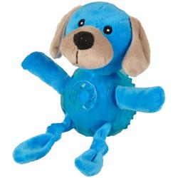 Flamingo FL-518200 Dog toy. Blue dog. length 18 cm approx. Jeux