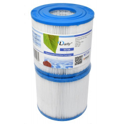 Darlly europe SC726 Filtre spa darlly - lot de deux filtres. Filtre cartouche