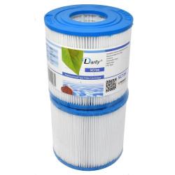 Darlly europe SC726 Spa Filter darlly - Satz mit zwei Filtern. DA-SC726 Kerzenfilter
