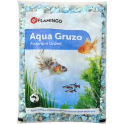 Flamingo FL-400716 Gravier Gruzo vert 900 gr. pour aquarium. Decoration and other