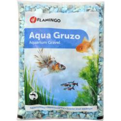 Flamingo Grüner Gruzo-Kies 900 gr. für Aquarium. FL-400716 Dekoration und Sonstiges