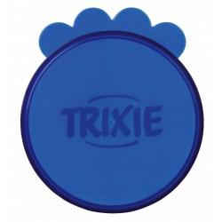 3 Couvercles pour boites de conserves. ø 7.6 cm pour animaux accessoire alimentaire Trixie TR-24551