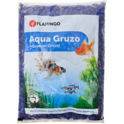 FL-400442 Flamingo Grava de neón azul oscuro de 1 kg. para el acuario. Decoración y otros