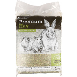 Flamingo Pet Products Premium natural meadow hay. 1 kg or 30 litres. for rodents. Hay, litter, shavings