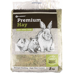 Flamingo Pet Products Premium natural meadow hay. 2 kg or 60 litres. for rodents. Hay, litter, shavings