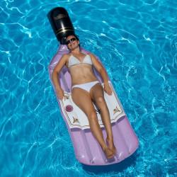 FUN-900-0016 SWIMLINE Matelas de piscine le rose arrose. Juegos de agua