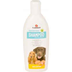 Flamingo Shampoing aux oeufs. pour chien. flacon de 300 ml. FL-507031 Shampoing