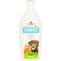 Flamingo FL-507032 Shampoing a l'herbe. pour chien. flacon de 300 ml. Shampoo