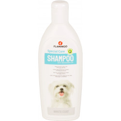 Flamingo FL-507035 Shampoo special white coat . for dogs. 300 ml bottle. Shampoo