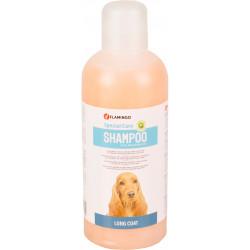 Flamingo Shampoing spécial poil long . pour chien. flacon de 1 litre. FL-507788 Shampoing