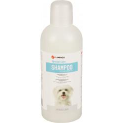 Flamingo Shampoing spécial pelage blanc . pour chien. flacon de 1 litre. FL-507786 Shampoing
