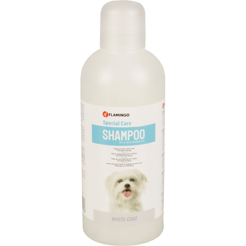 Flamingo Pet Products Shampoo special white coat . for dogs. 1 liter bottle. Shampoo