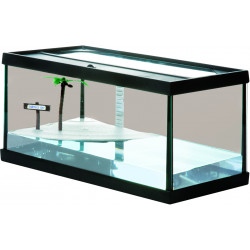 Flamingo Pet Products Bac a tortues BAY M. 52 x 26 x 24.5 cm. pour amphibien. FL-405592 Amphibische Reptilien