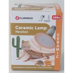 Flamingo Lampe ceramique HELIOS - 100 W. pour terrarium. FL-101901 éclairage