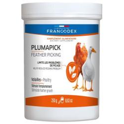 francodex complément alimentaire plumapick, pot de 250G pour volaille. FR-174204 Nourriture