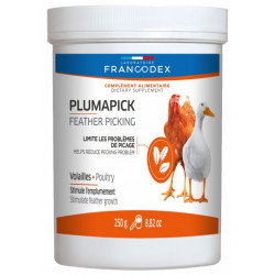 francodex FR-174204 plumapick food supplement, 250G jar for poultry. Food and drink